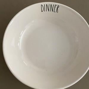 Rae Dunn Pasta Bowl DINNER